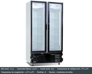 Induplex-25 - Combo Nevera/Freezer
