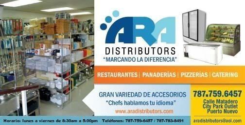 Bienvenidos al sitio Web de A.R.A. Distributors